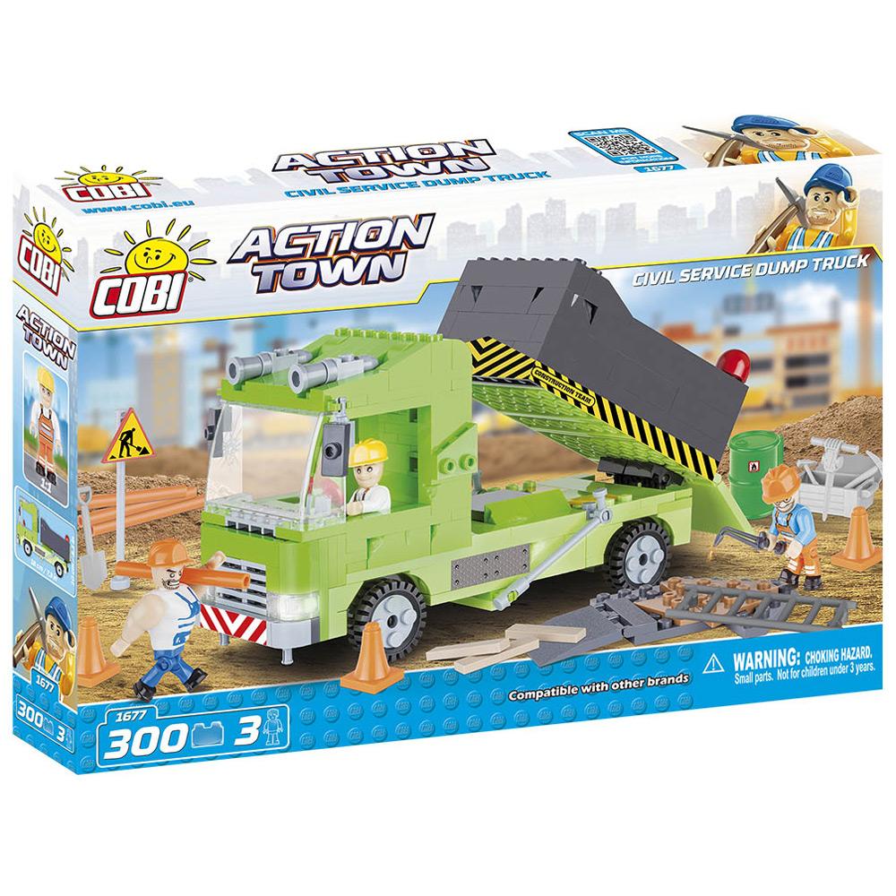 Civil Service Dump Truck