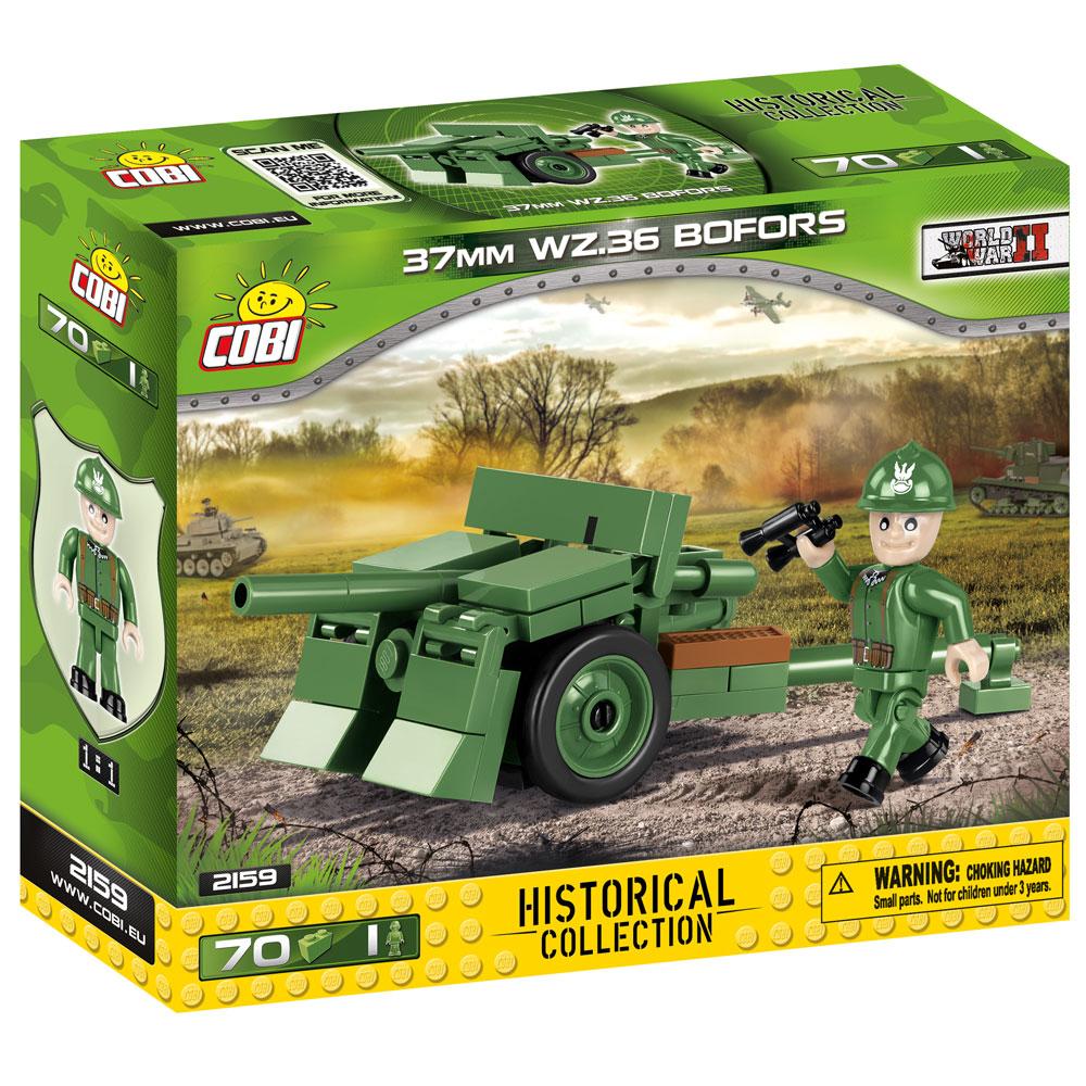 Tun 37MM WZ.36 Bofors