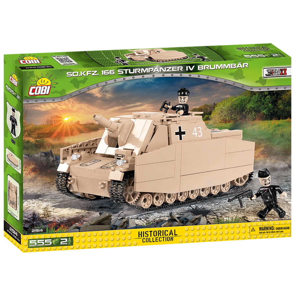 Tanc SD.KFZ.166 Sturmpanzer IV Brummbar