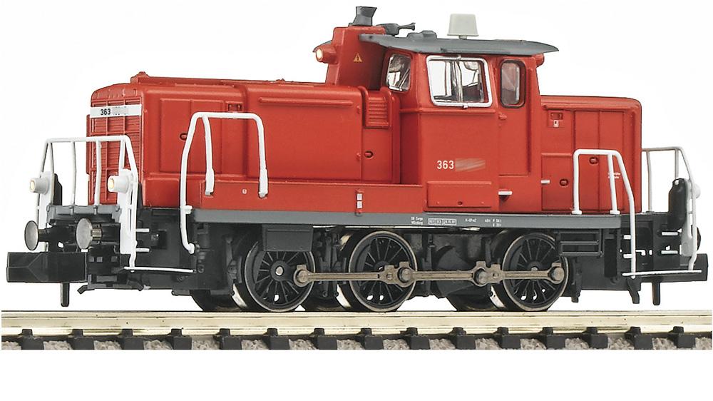 Locomotiva diesel, clasa 363, cu decodor DCC,  DB AG