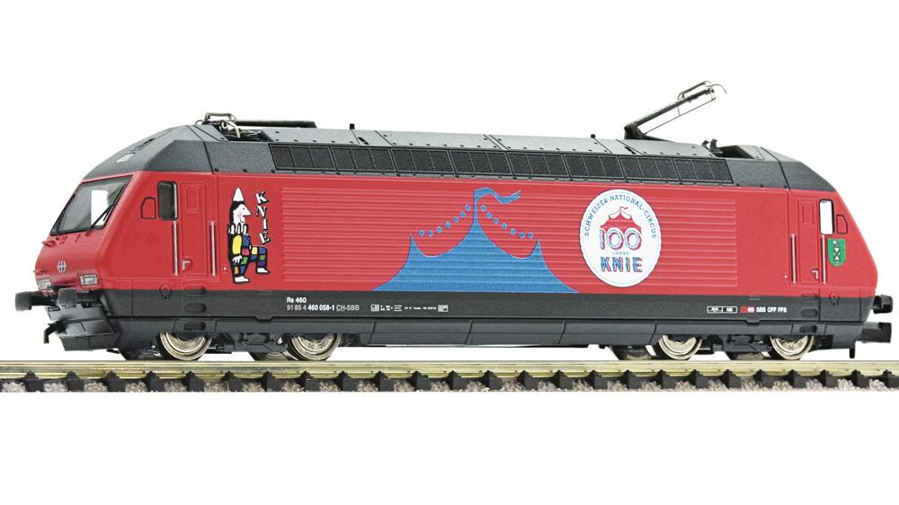 Locomotiva electrica 460 058-1 Circus Knie, Sunet