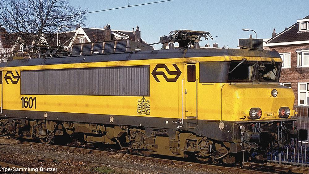 Locomotiva electrica 1601, cu sunet, NS