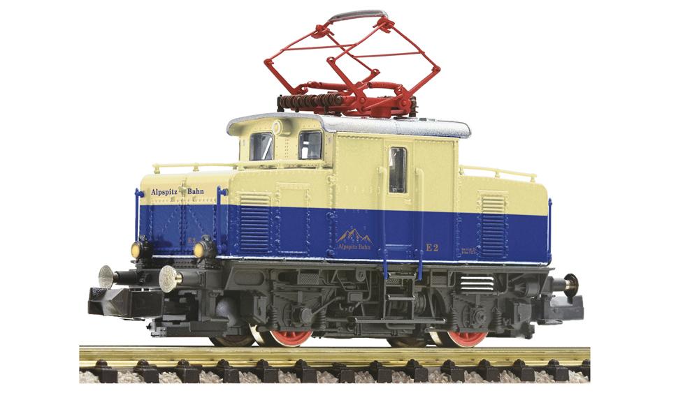 Locomotiva cu cremaliera si pinion, Alpspitz-Bahn