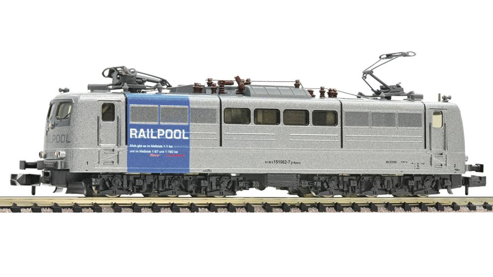 Locomotiva electrica 151 062-7, Railpool, Sunet