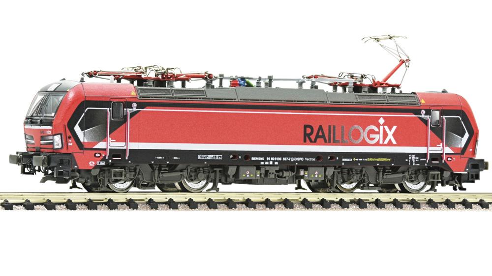 Locomotiva electrica 193 627-7, Raillogix, Sunet