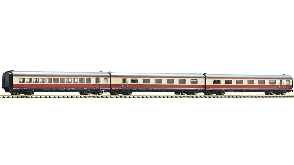 Set 3 piese: vagoane suplimentare pentru setul Alpen-See-Express, DB