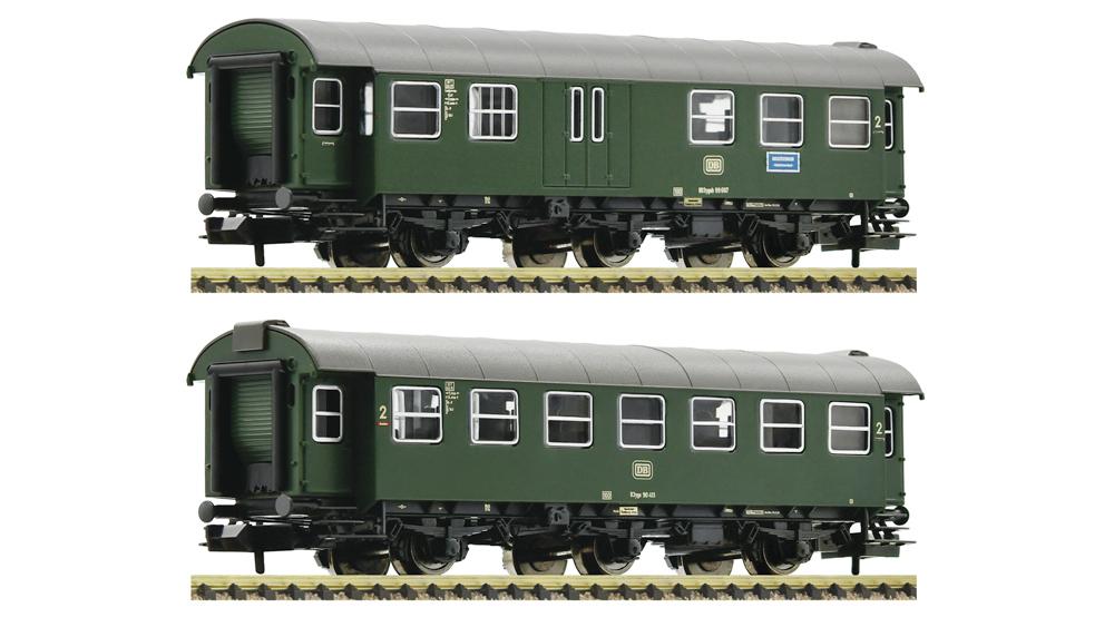 Vagoane pasageri, DB, Set 2 piese