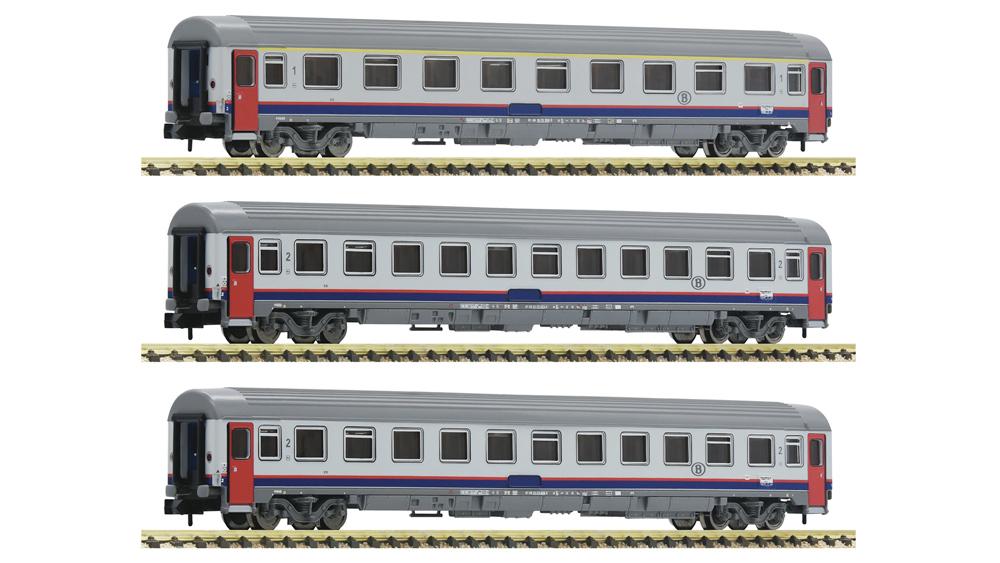 Vagoane Eurofirma, SNCB, Set 3 piese