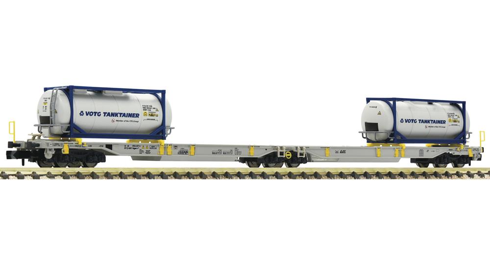 Vagon Dublu Articulat  T2000 Tanktainer, AAE