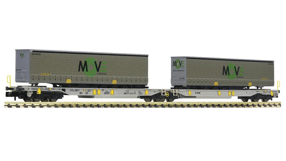 Vagon Dublu Articulat de Transport Semiremorci T2000 MOVE, AAE