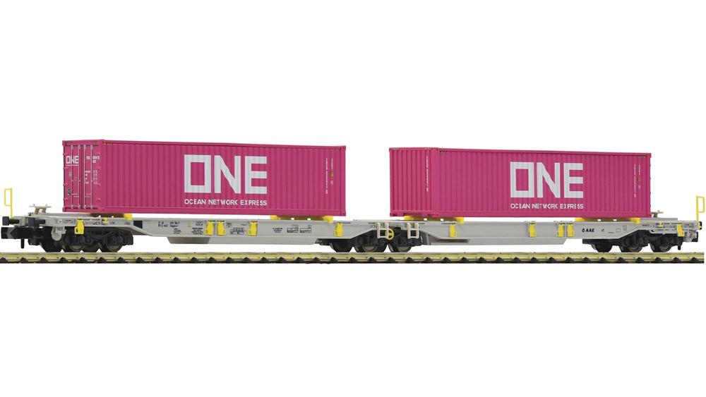 Vagon Dublu Articulat de Transport Semiremorci T2000 ONE, AAE