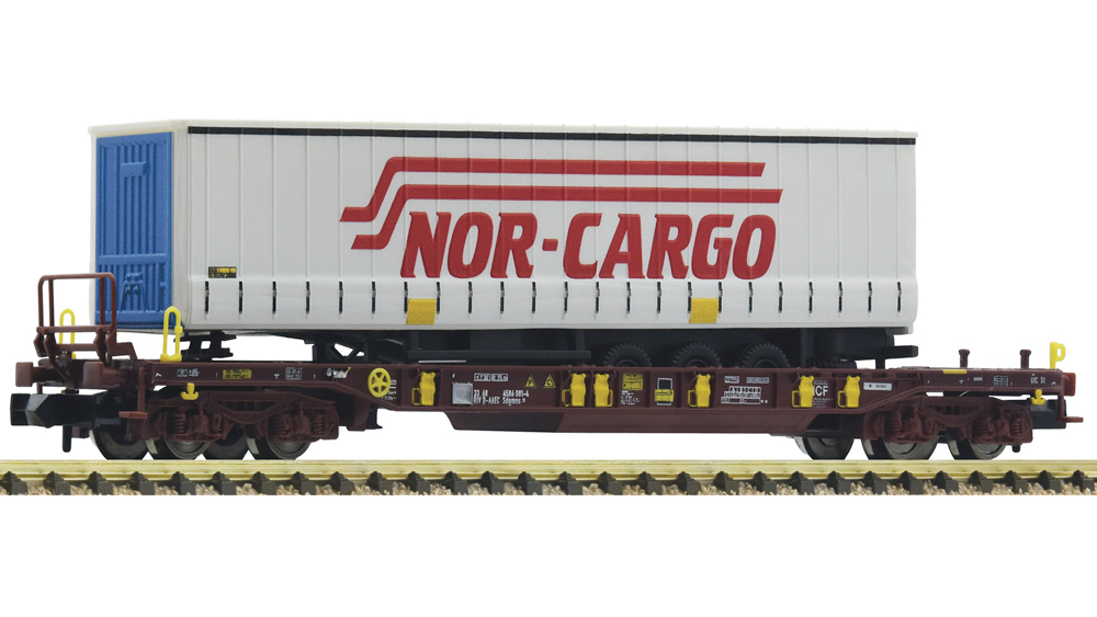 Vagon de Transport Semiremorca T3 NorCargo, AAE