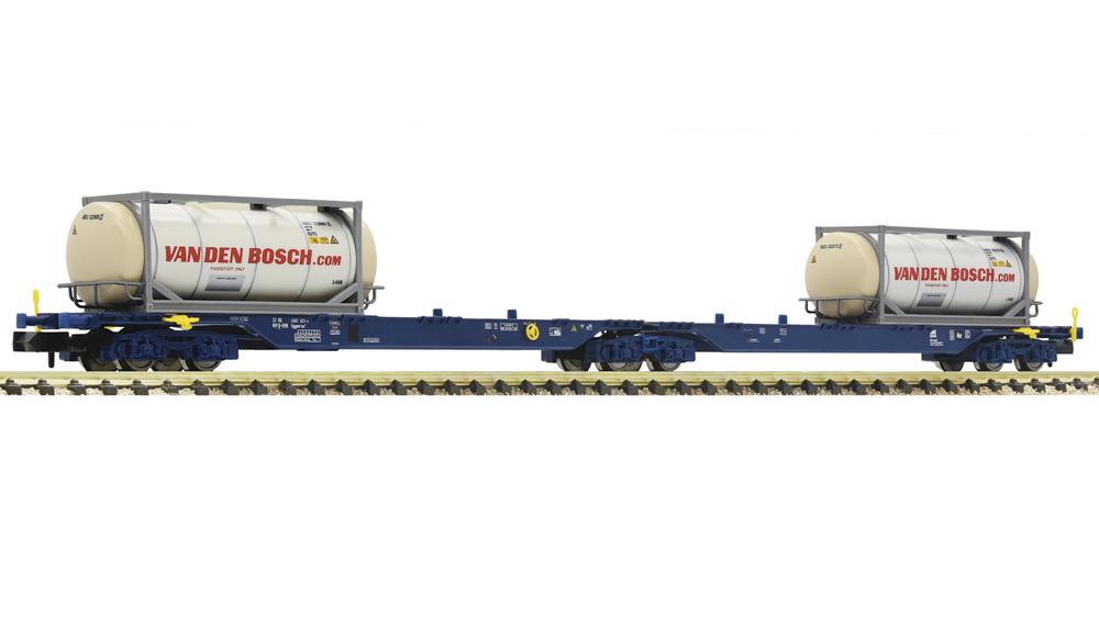 Vagon  dublu de transport containere tip Sggmrs, ERR