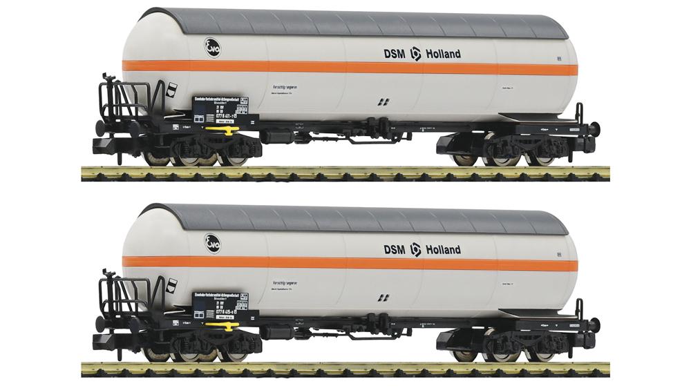 Vagon Cisterna pentru Transport de Gaz sub Presiune, NS, Set 2 piese