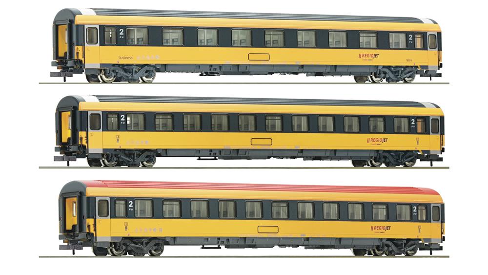 Set 3 piese: Vagoane Eurofima, RegioJet