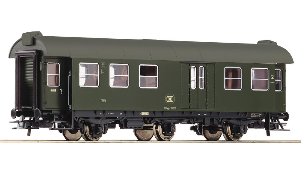 Vagon pasageri clasa a II-a cu portbagaj, DB