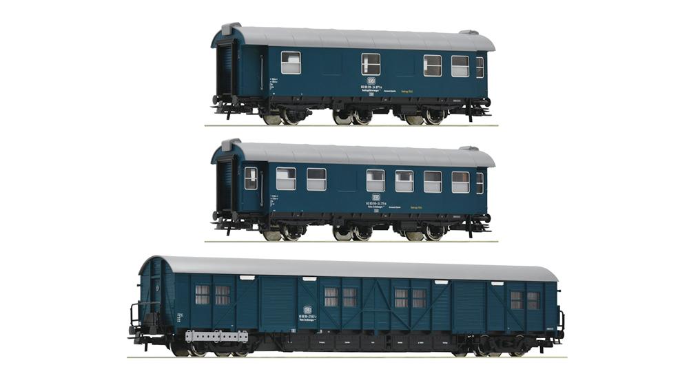 Vagoane de mentenanta/ constructie a trenurilor, DB, Set de 3 piese