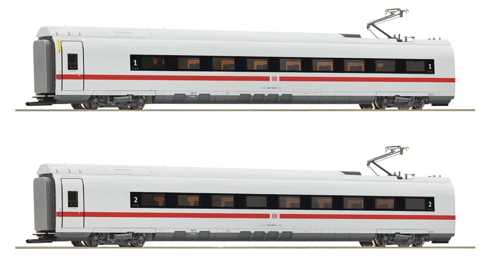 Vagoane intermediare clasa 407 (Set 1), DB AG, Set de 2 piese