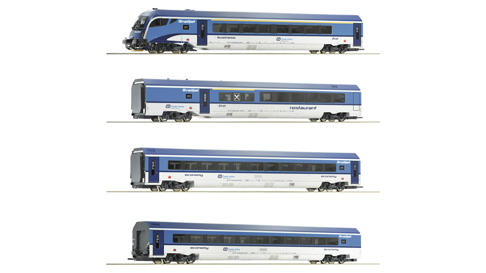 Railjet, CD, Set de 4 piese