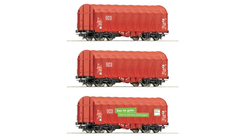Vagoane cu prelate culisante, DB AG