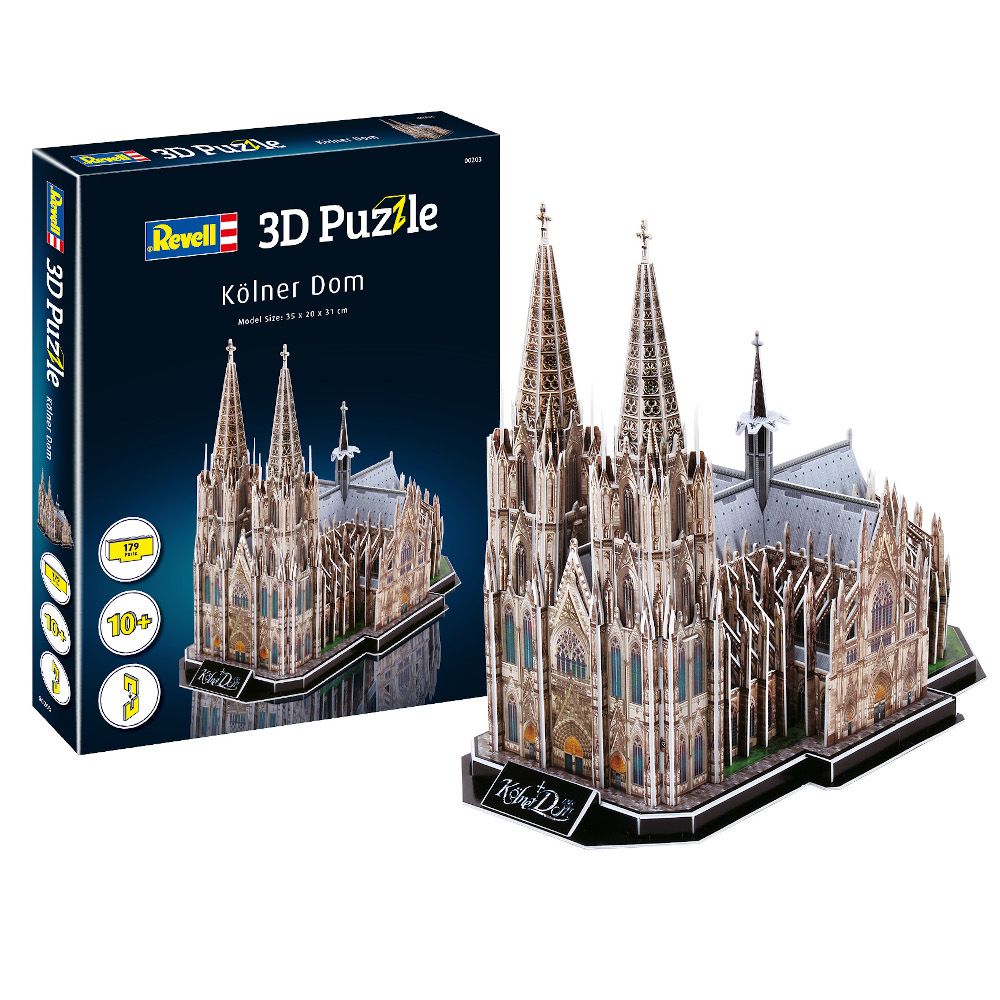 3D Puzzle Cologne Cathedral