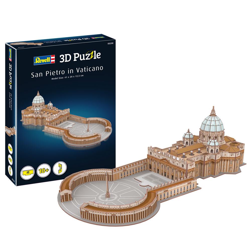 3D Puzzle San Pietro in Vaticano