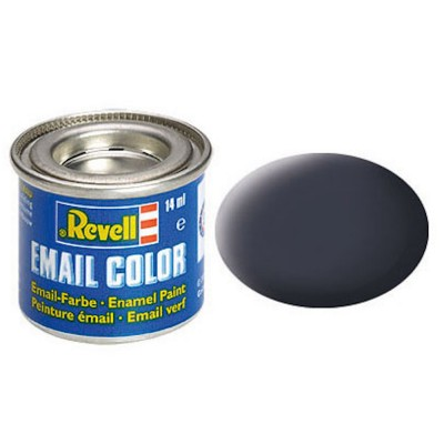 Email Color, Tank Grey, Matt, 14ml, RAL 7024