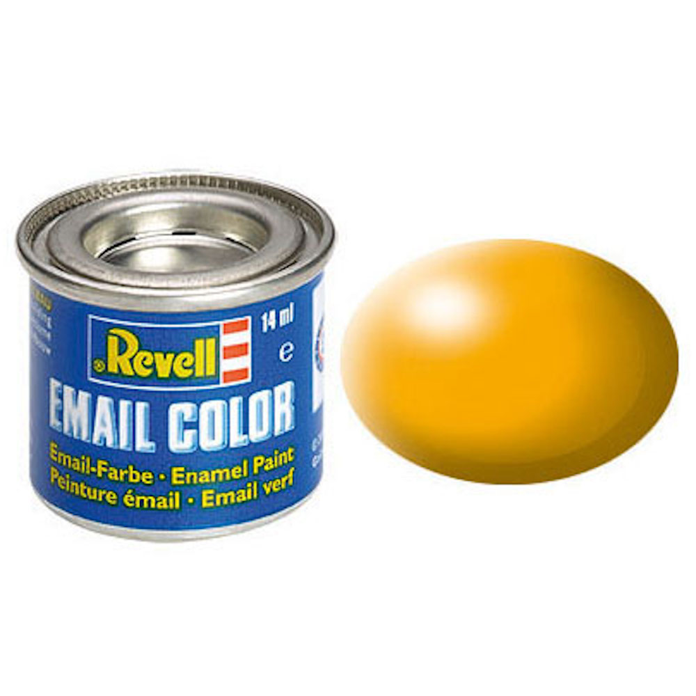 Email Color, Yellow, Silk, 14ml, RAL 1028