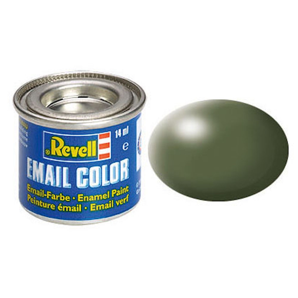 Email Color, Olive Green, Silk, 14ml, RAL 6003