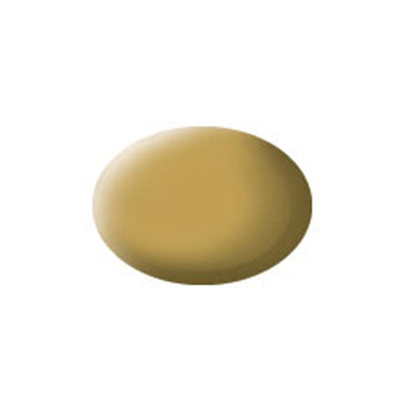 Aqua Color, Sandy Yellow, Matt, 18ml