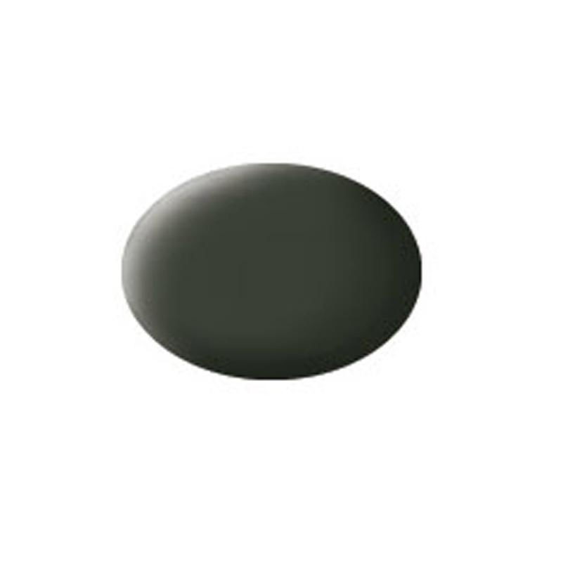 Aqua Color, Black Green, Matt, 18ml