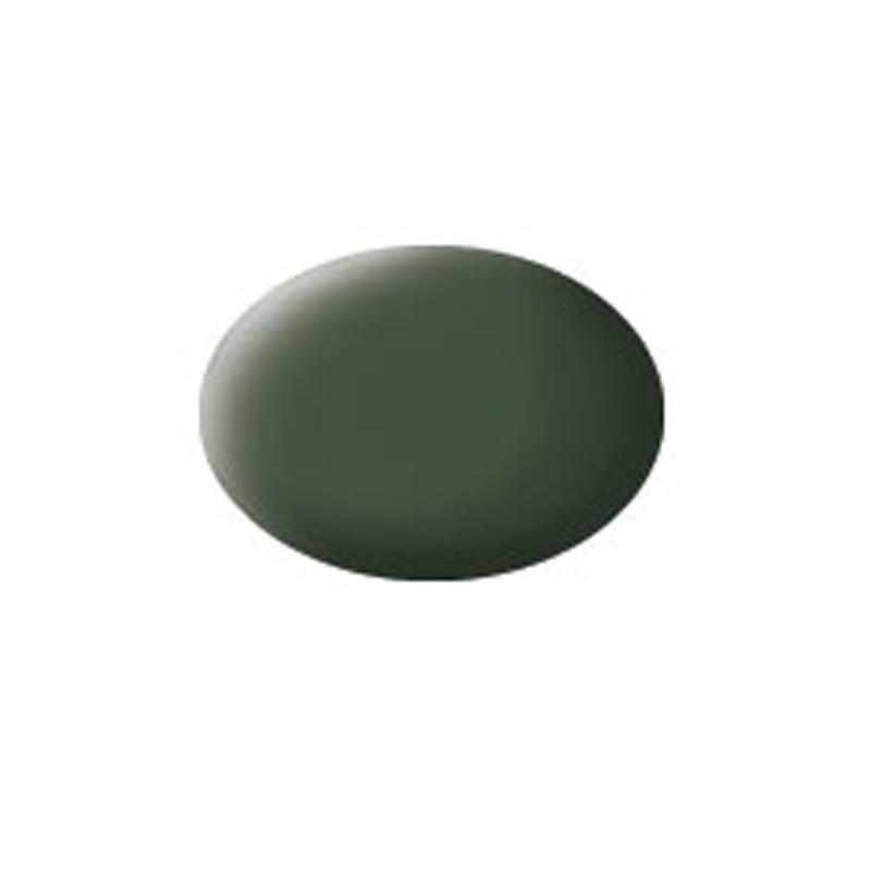 Aqua Color, Bronze Green, Matt, 18ml, RAL 6031