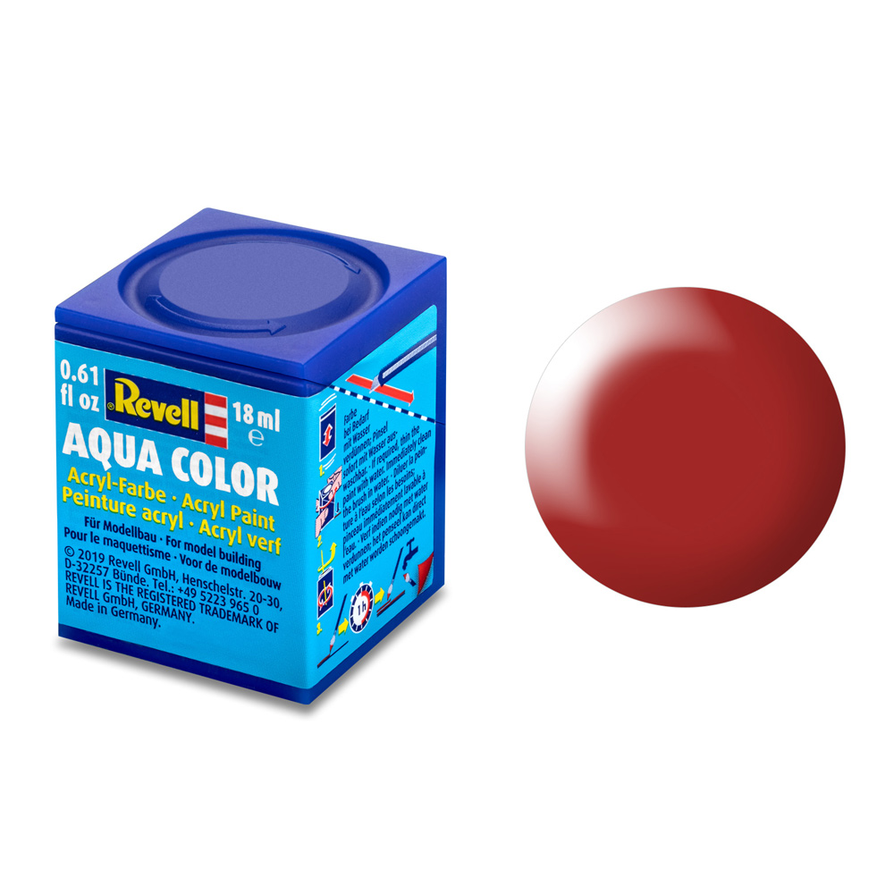 Aqua Color, Fiery Red, Silk, 18ml