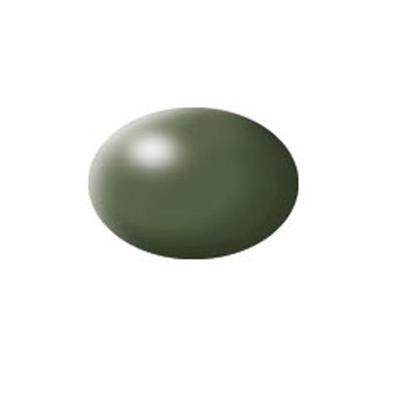 Aqua Color, Olive Green, Silk, 18ml