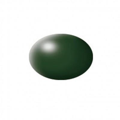 Aqua Color, Dark Green, Silk, 18ml
