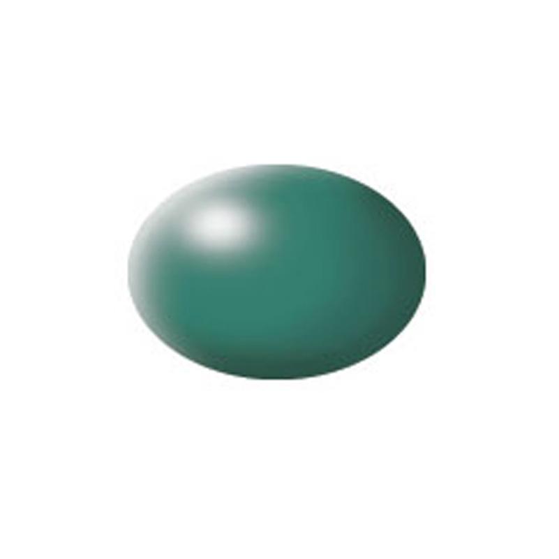 Aqua Color, Patina Green, Silk, 18ml