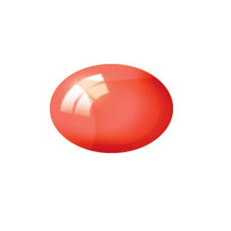 Aqua Color, Clear Red, 18ml