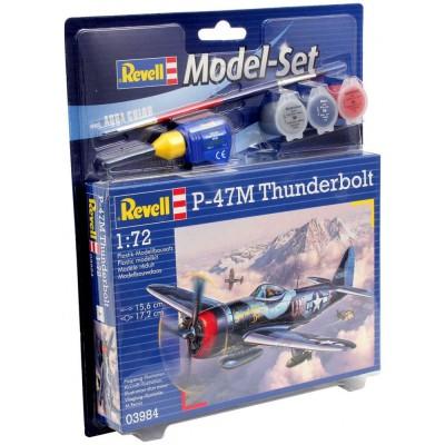 Model Set P-47M Thunderbolt