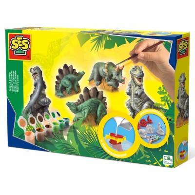 Creaza si picteaza - Dinozauri, SES