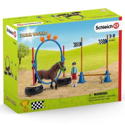 Cursa de agilitate cu ponei, SCHLEICH