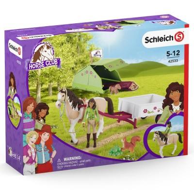 Horse Club Excursie la camping cu Sarah, SCHLEICH