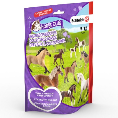Horse Club Punga surpriza figurine L (2), SCHEICH